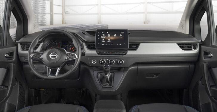 Интерьер Nissan Townstar. Фото Nissan
