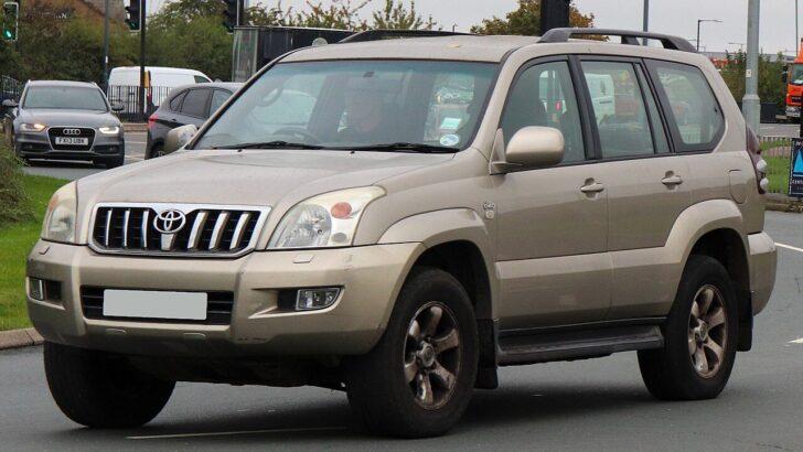 Toyota Land Cruiser Prado. Фото Vauxford