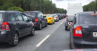 Трафик в Подмосковье. Фото Moscow-Live.ru