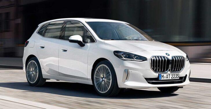 BMW 2-Series Active Tourer. Фото BMW