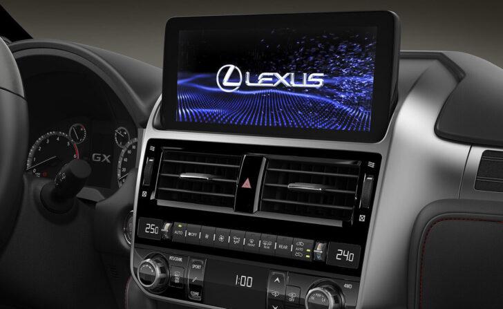Интерьер Lexus GX 460. Фото Lexus