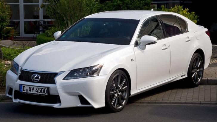 Lexus GS. Фото Altair78