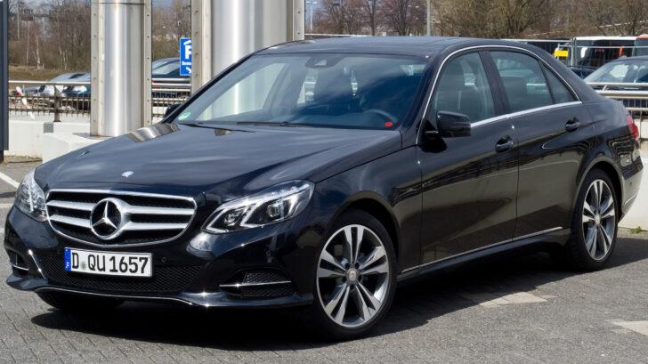 Mercedes-Benz E-Class. Фото M93